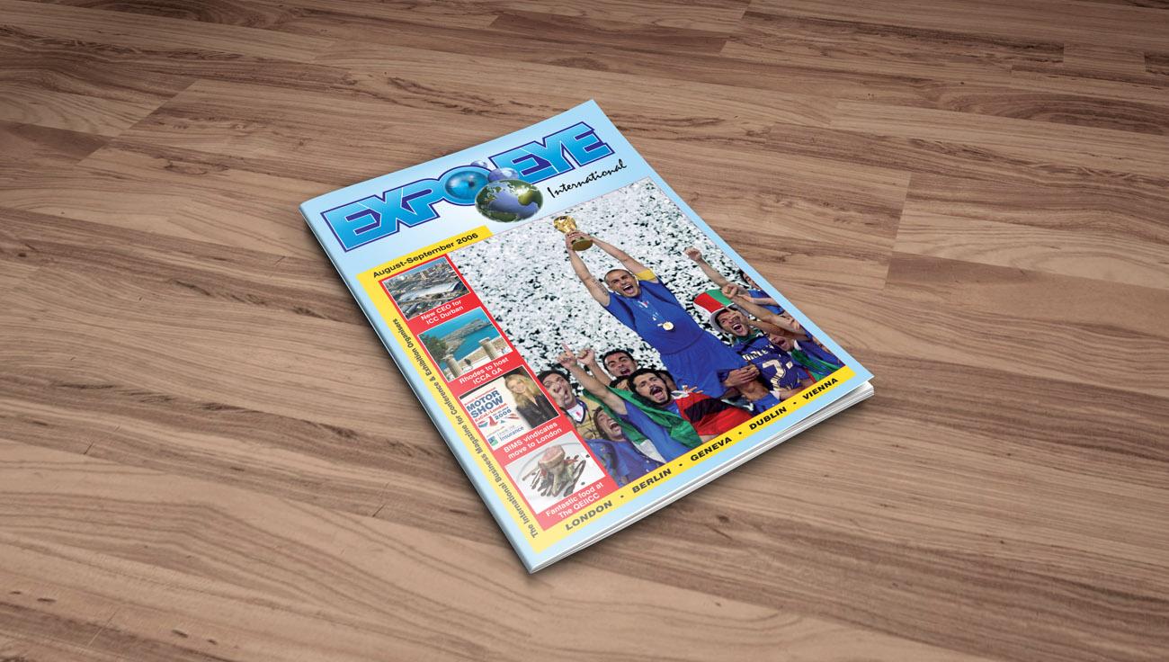ExpoEye Magazine design by CS Creative Studio