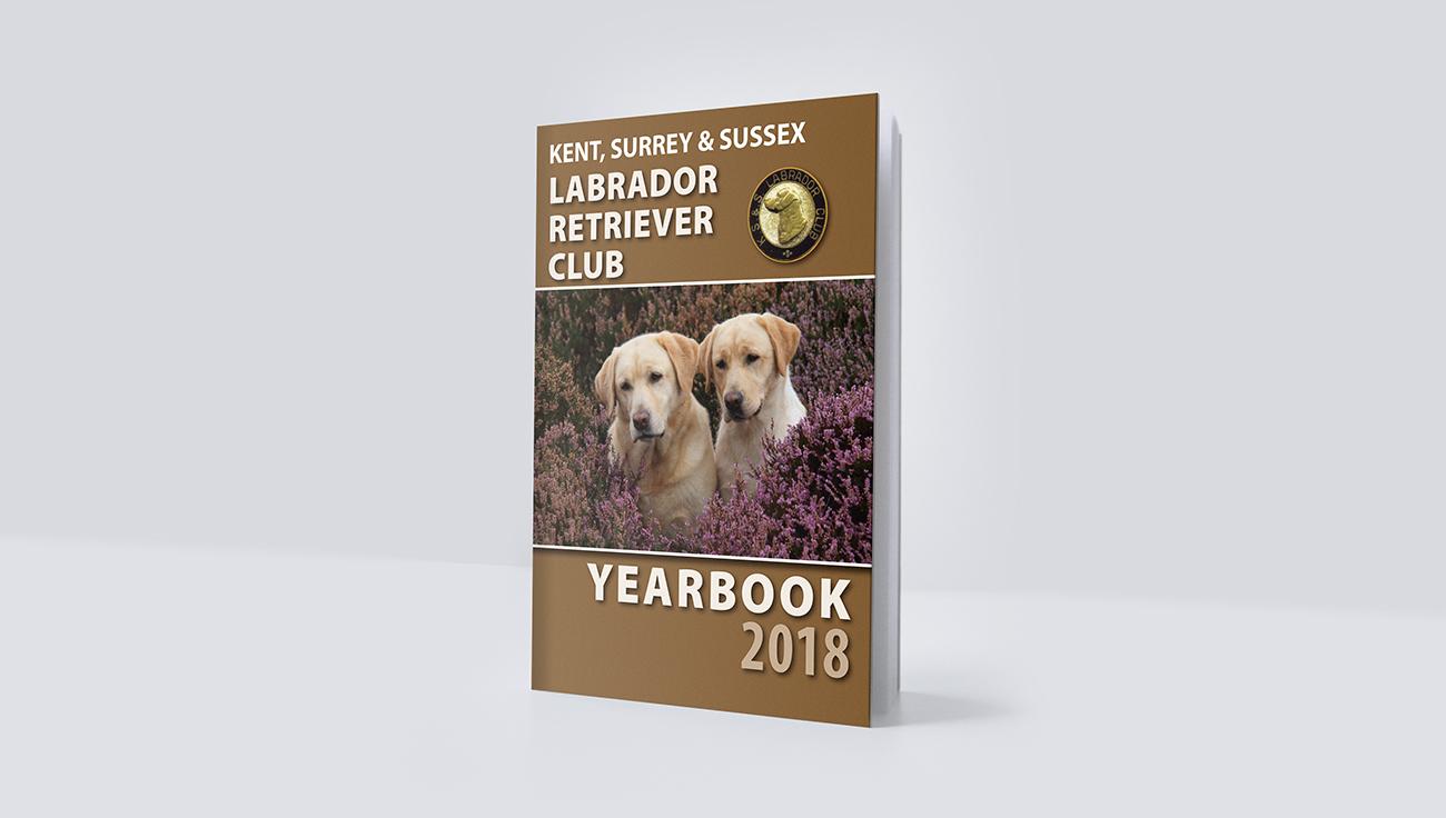Labrador Retriever Yearbook design by CS Creative Studio